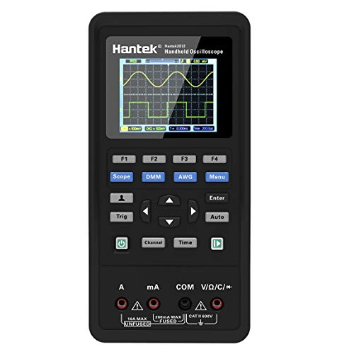 Hantek 2D42 3in1 Digital Oscilloscope Waveform Generator Multimeter USB Portable 2 Channels 40MHz 250MSa/s Multifunction Tester