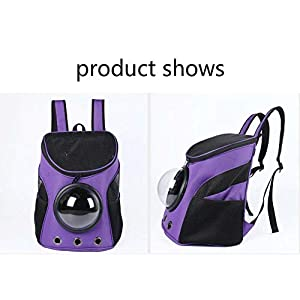 Emily Pets Pet Carrier Backpack Capsule Bag Carrier for Cats and Dogs