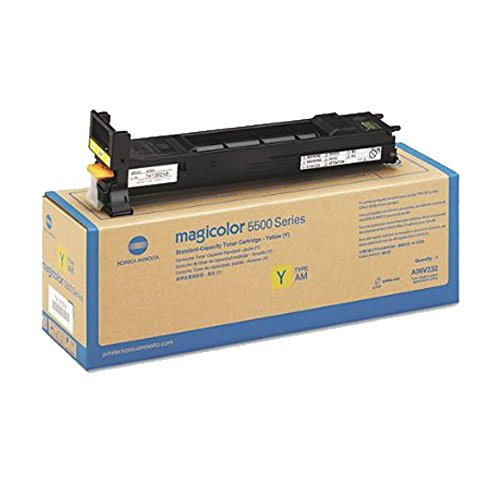 KONICA MINOLTA MAGICOLOR 5570 Yellow Original Toner (6,000 Yield) (Toner 5570 Yellow)