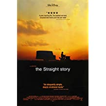 THE STRAIGHT STORY MOVIE POSTER 2 Sided ORIGINAL ROLLED 27x40 DAVID LYNCH