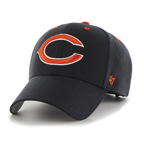 - '47 NFL Chicago Bears MVP Adjustable Hat, One Size, Navy