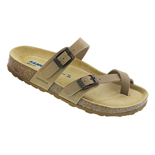 cb2eee576b Sanosan Women's Houston Sandals in Nubuck Leather - Comfort Plus