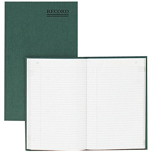 RED56112 - Rediform Green Bookcloth Journal book (Rediform Business Ledger)