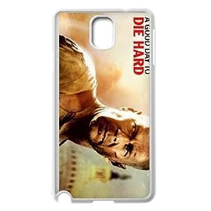 Die Hard Samsung Galaxy Note 3 Cell Phone Case White MS4628861