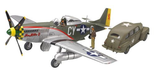 P-51D Mustang and Staff Car 1/48 Tamiya Tamiya for sale  Delivered anywhere in USA