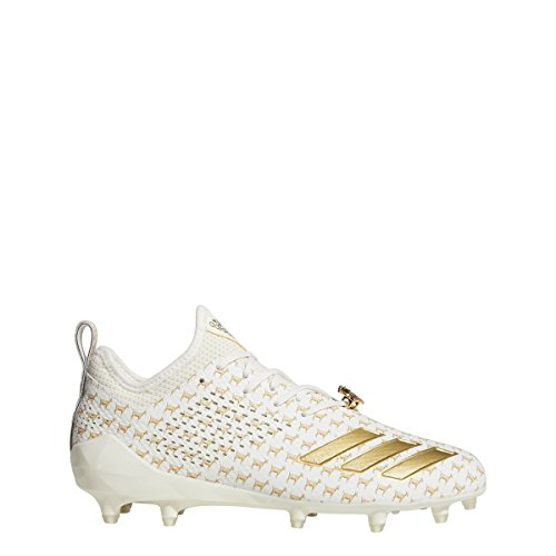 adidas Adizero 5Star 7.0 7v7 Cleat Men's Football 17 Off White-Gold Metallic