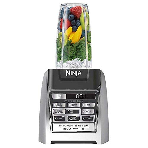 SharkNinja BL687C0 Ninja Auto-iQ Blender, under under counter high, stainless