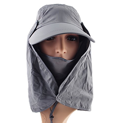 ezyoutdoor-flap-face-mask-mesh-jungle-cap-quick-dry-bush-hat-jungle-hat-wood-cap-long-neck-for-picni