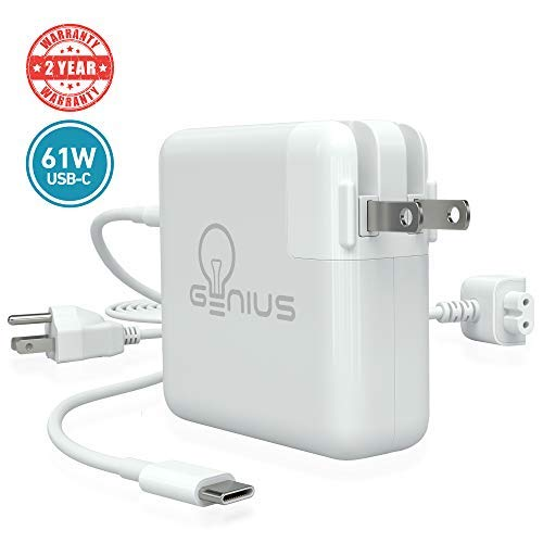 """Genius Charger for Apple MacBook Pro 13"""" 2016, 2017, 2018 