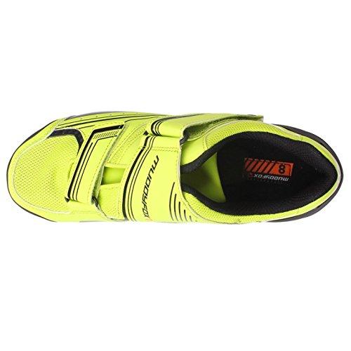 Muddyfox Mens RBS100 Cycling Shoes - Green - Size 10 Gelb