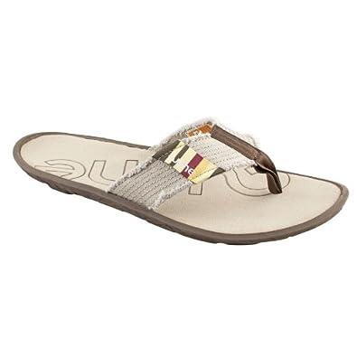 f18d17c2c931 Cushe Men s Flipper Canvas Flip Flop Sandal Sand UK 6  Amazon.co.uk  Shoes    Bags