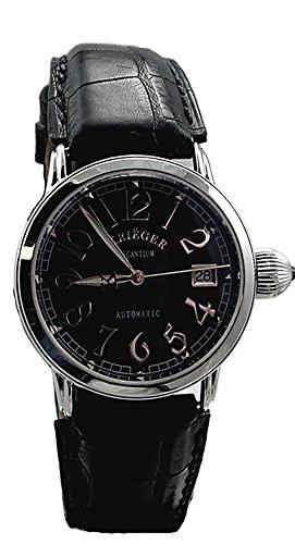 Krieger Unisex Watch K3003.1A.4 Black Strap (Krieger Mens Watches)