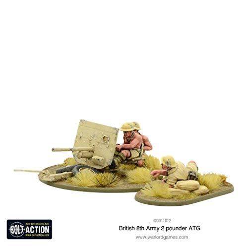 Warlord Games Bolt Action: 8th Army 2 Pounder Anti-Tank Gun