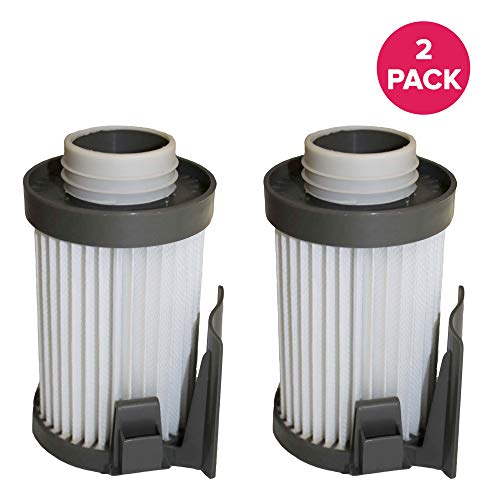 Crucial Vacuum Air Filter Replacement Parts - Compatible with Eureka Vacs Part # 62731 62396 - High Performing, Compact, Durable Filters Fit Optima Series Models DCF-10, DCF-14 - Home (2 Pack)