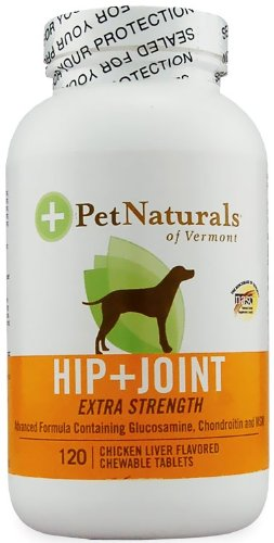 Pet Naturals Hip and Joint Tablets, Extra Strength, 120-Count Bottle, My Pet Supplies