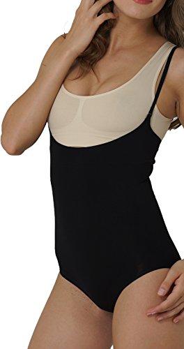 UnsichtBra super donna Nero per modellante e scollato sgambato Body rpfwq5r