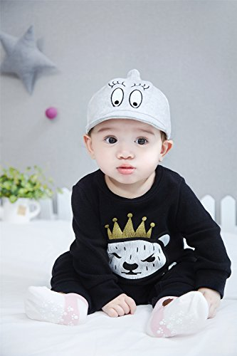 GZMM Infant Toddler Baby Baseball Cap Unisex Soft Brim Sun Hat Korean Stlye de004ba92d08