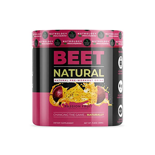 Beet Natural - All Natural Pre-Workout Drink Featuring Beet Root Powder.
