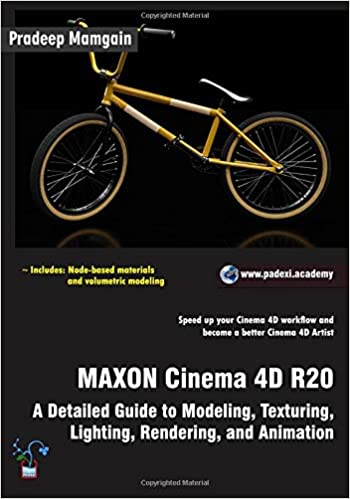 Amazon com: MAXON Cinema 4D R20: A Detailed Guide to