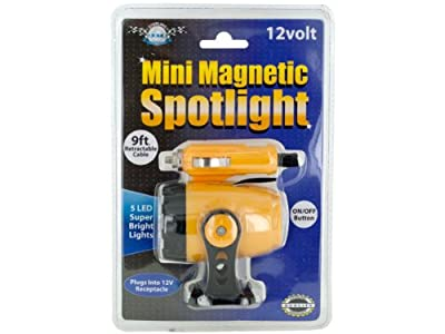 bulk buys 12-volt Mini Magnetic 5-LED Spotlight