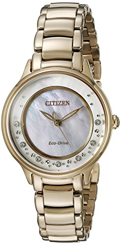 Citizen Eco-Drive Women's EM0382-86D Circle of Time Rose Gold Watch