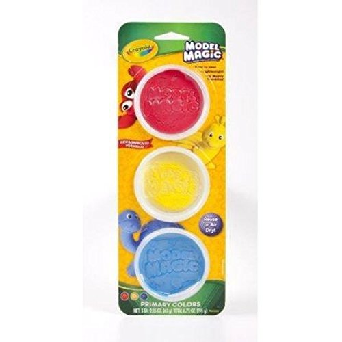 Crayola Model Magic, Modeling Clay Alternative, Primary Colors, Gift