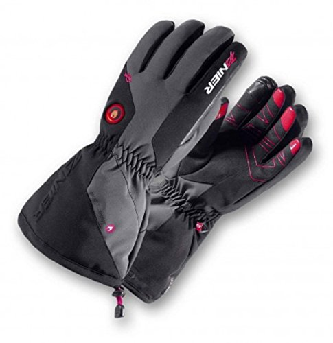 Zanier AVIATOR.GTX UX Lithium Battery Heated Glove, Black, Medium