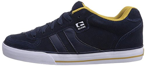 Globe Encore 2 Marine Or Suede Hommes Skate Baskets Chaussures Bottes