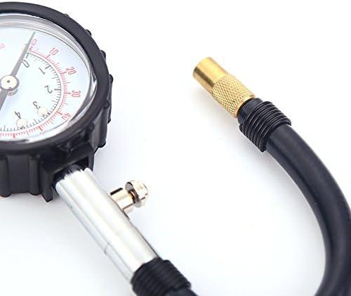 Taux de feuillets longue tube Bike moteur Testeur de pression des pneus de voiture M v/éhicule Testeur Syst/ème de surveillance