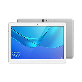Image of ALLDOCUBE M5X 4G LTE Tablet, 10.1' HD Dispaly,4GB RAM,64GB ROM,Android 8.0,WiFi、Bluetooth,2MP/5MP Camera,White