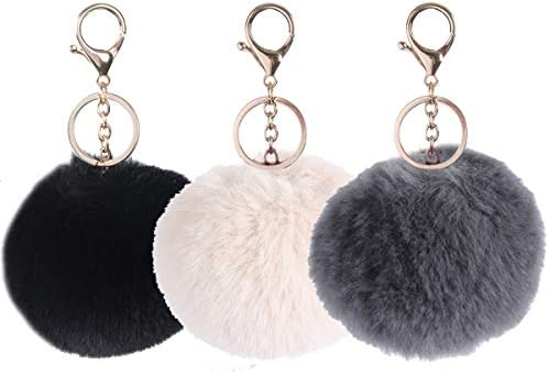 Small Ladies Girls Faux Fur Super Soft Furry Coin Purse Metal Clasp