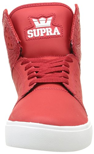 Atom top Kids' Unisex off White Hi Sneakers White Supra cardinal HwpvFqF