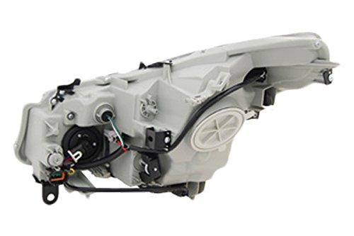 TYC 20-9013-00-1 Infiniti G35 Right Replacement Head Lamp ()