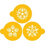 Designer Decorating Stencil Five point rosettes, fits within a 2.75'' circle