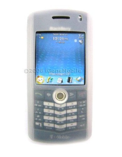 Blackberry 8100 Pearl PDA Silicone Protection Skin Case - Clear ()