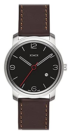 XEMEX Armbanduhr PICCADILLY QUARTZ Ref. 880.02 3 HANDS DATE