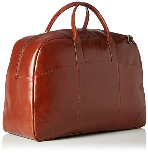 Royal Republiq Explorer Weekender - Borse a spalla Unisex Adulto, Braun (Cognac), 21x36x55 cm (B x H T)