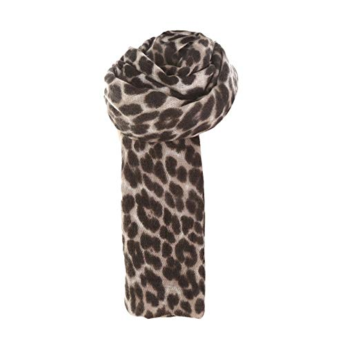 UONQD Clearance! Women Winter Thick Leopard Cashmere Soft Long Scarf Shawl Wrap ()