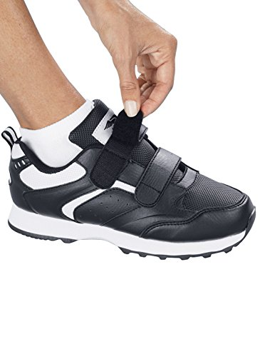 Carol Wright Gifts Womens Walking Shoe, Black, Size 7 (Wide)