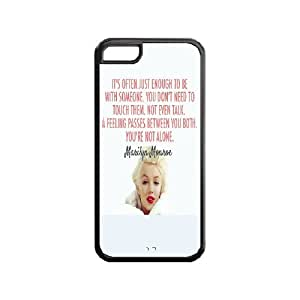 iphone 5/5s iphone 5/5s Marilyn Monroe Case, iphone 5/5s iphone 5/5s Black Case