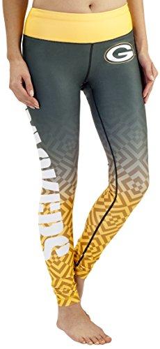 Green Bay Packers Gradient Print Legging - Womens -