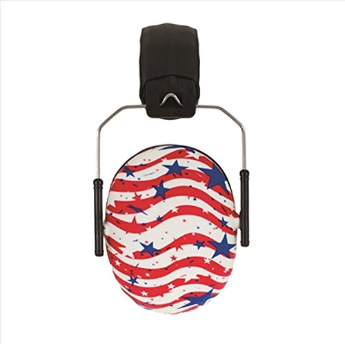 Baby Banz Hearing Protection for Kids, Flag Print from BanZ