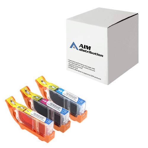 AIM Compatible Replacement for Canon BCI-3E Inkjet Combo Pack (C/M/Y) (4480A263) - - Cartridge Compatible Bci 3e Replacement
