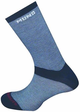 Mund Elbrus frío extremo térmica (liner) con calcetines 75% Thermalite e 12% Lycra. Tamaño pasos (46 EUR 49): Amazon.es: Deportes y aire libre