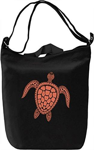 Turtle Borsa Giornaliera Canvas Canvas Day Bag| 100% Premium Cotton Canvas| DTG Printing|