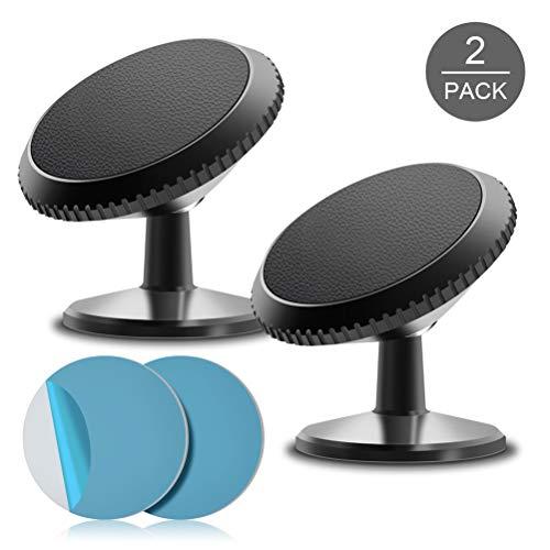Magnetic Car Phone Mount, SVEUC Phone Holder for Car, Magnetic Phone Car Mount Compatible with iPhone, Samsung, LG, GPS, Mini Tablet and More(2Pack)