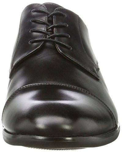 Aldo Galerrang-r, Scarpe Stringate Uomo Nero (Black Leather)