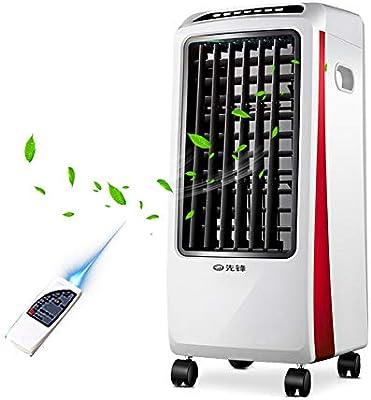 Fan Fan DIOE Aire Acondicionado Ventilador de refrigeración hogar Ventilador eléctrico Dormitorio Aire Acondicionado radiador Sala de Estar humidificación Ventilador ...