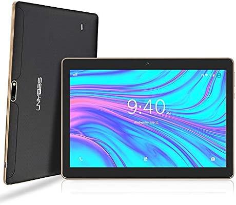 LNMBBS Android 9.0 Tablet de 10 con WiFi 4GB de RAM y 64 GB de Memoria Tablet PC Procesador de Cuatro núcleos y Dobles Ranuras SIM y una Ranura TF ...