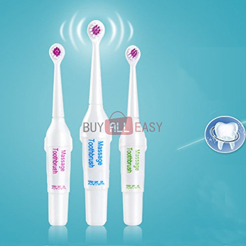 Bazaar Waterproof Electric Ultrasonic Vibration Toothbrush Whitening Soft Bristle Electric Tooth Brush Big Bazaar